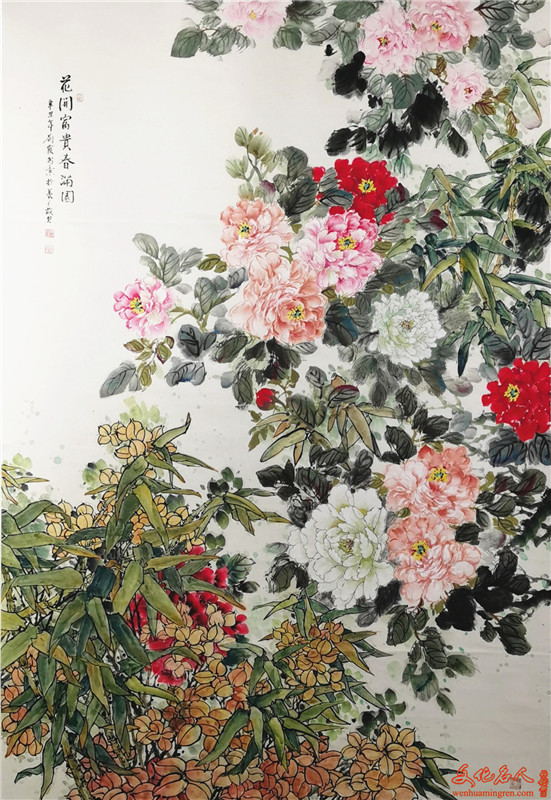 画家刘霞国画作品欣赏